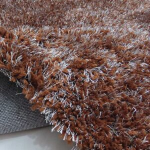 Opulent Home - Silver Rug Collection (Chocolate)